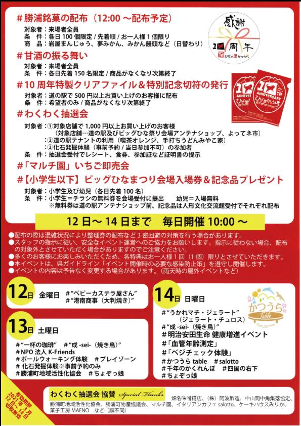 勝浦10周年ウラ